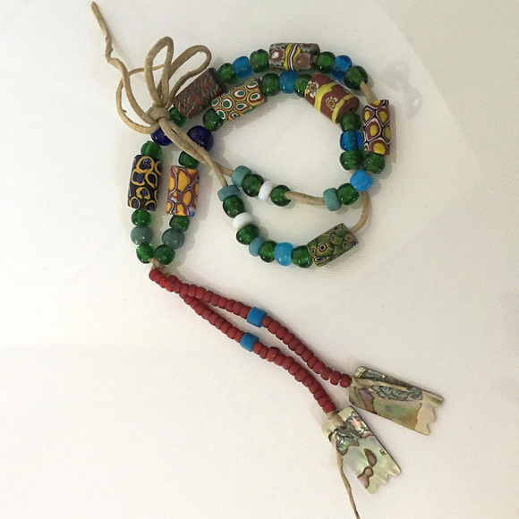 Vintage Jewelry Antique Native American Indian Trade Bead Necklace Poshmark